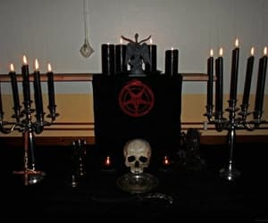 goth and satanism image