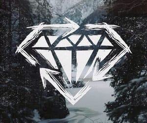 diamond, background, and forest image