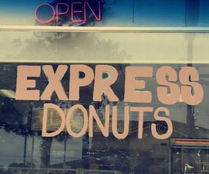 donut shop, tumblr, and donuts image