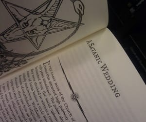 satanic, book, and satanism image