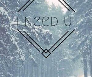 i need u and bts image