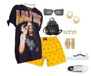 aaliyah, fashion, and fashionista image