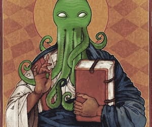 animated, tentacles, and cthulhu image