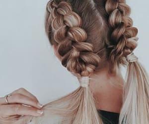 beautiful, blonde, and braids image