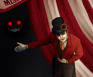 beast, circus, and draw image