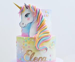 cake, unicorn, and creative image
