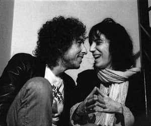 bob dylan, Patti Smith, and bobby d image