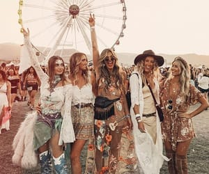 girl, beauty, and coachella image
