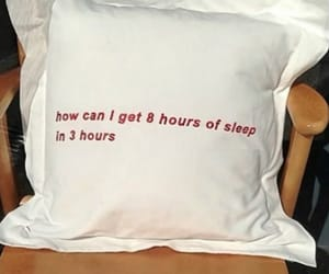 sleep, pillow, and funny image