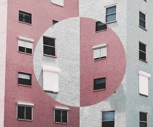 pink, building, and indie image