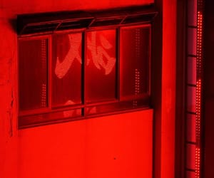 aesthetic, red, and window image