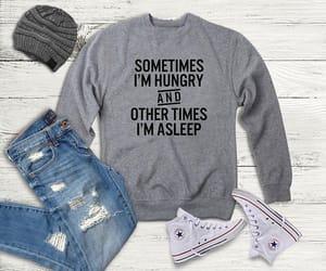 design, hipster, and men sweatshirt image