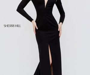 long sleeve dresses and black evening gowns image