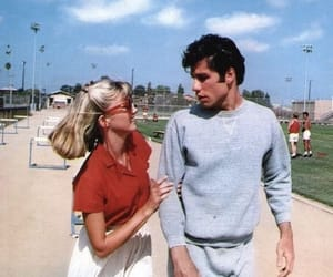 grease, love, and couple image