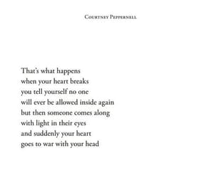 broken, confused, and poem image