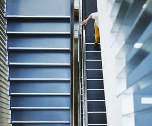 staircase, stairway, and stairwell image