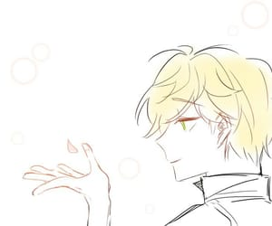 Adrien, Chat Noir, and miraculous image