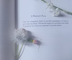 book, memories, and flower image