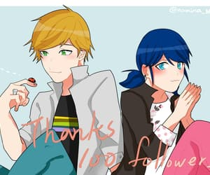 Adrien, miraculous, and marinette image