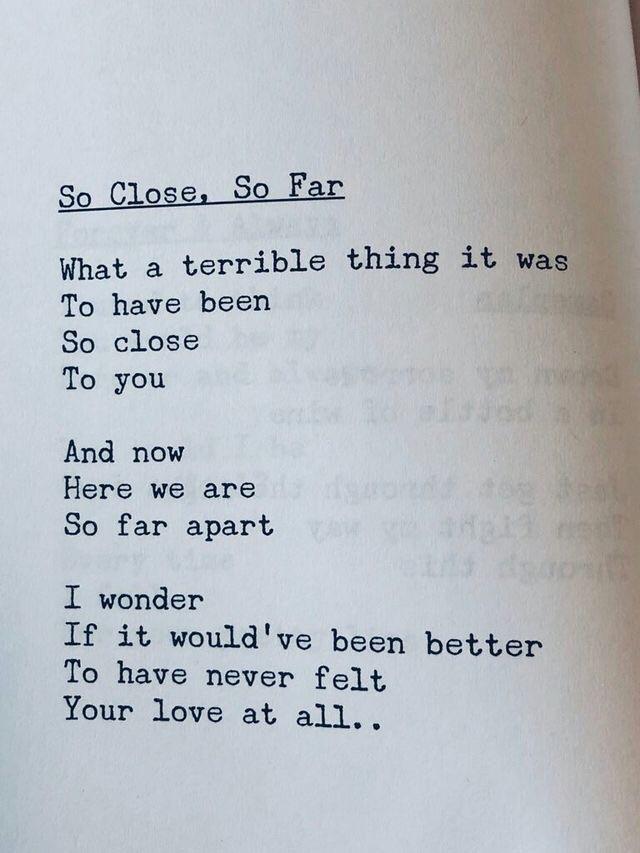 Never met wish i you poem i i wish