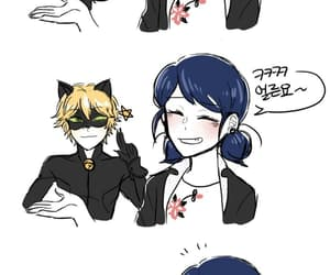 Chat Noir, miraculous, and marichat image