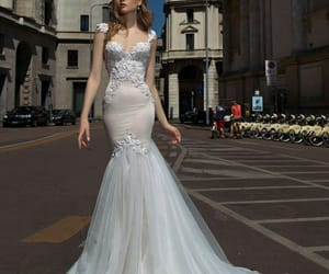bridal, Prom, and clothing image