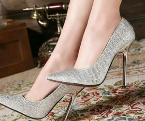 accessories, bridal, and high heels image