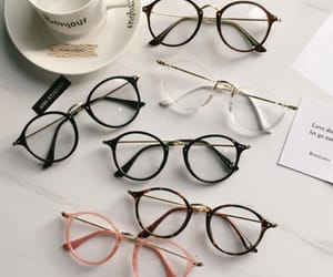 aesthetic, glasses, and style image