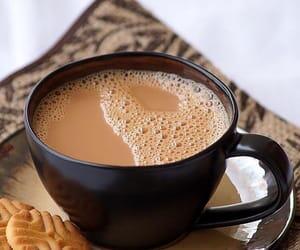 coffee, كوكيز, and chai image