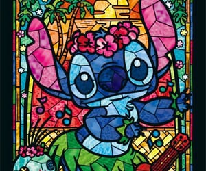 art, drawing, and lilo and stitch image