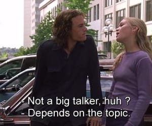 10 things i hate about you, movie, and quotes image