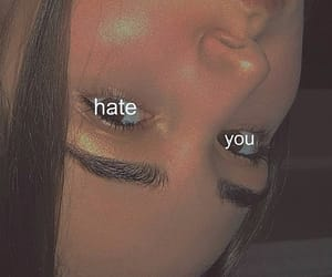 eyes, you, and hate image