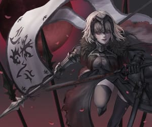 anime, jeanne d'arc, and fate grand order image