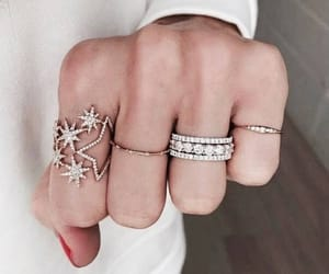 rings, accessories, and stars image