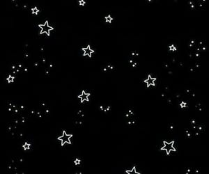 stars, wallpaper, and black image