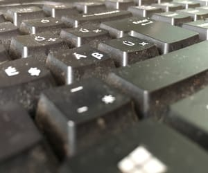 dirty, hungary, and keyboard image