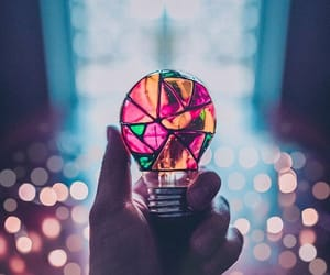 bulb, creative, and photography image