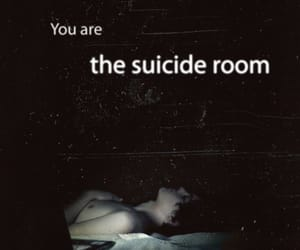 suicide room, suicide, and movie image