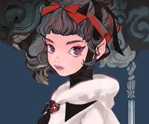 anime girl, art, and rocoa image