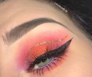 coachella, eye makeup, and eyebrows image