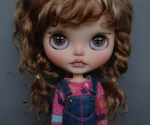 cute, blythe, and dolls image