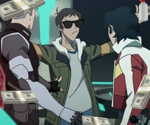 keith, lance, and Voltron image