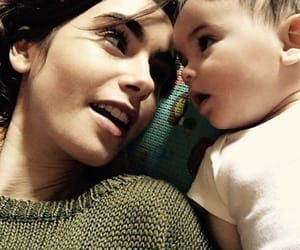lily collins, baby, and lilycollins image