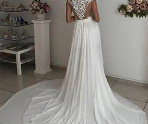 country wedding dress image