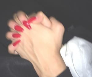 black, hands, and mine image