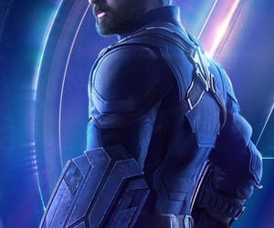 Avengers, infinity war, and captain america image
