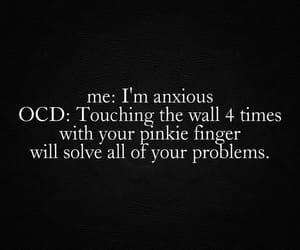 anxiety, anxious, and disorder image