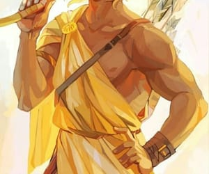 god, apollo, and percy jackson image