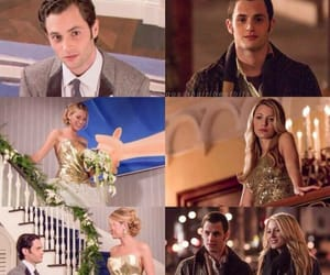 blake lively, couple, and dan humphrey image