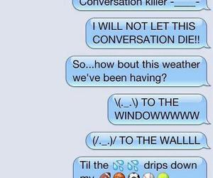 funny, text, and to the window image